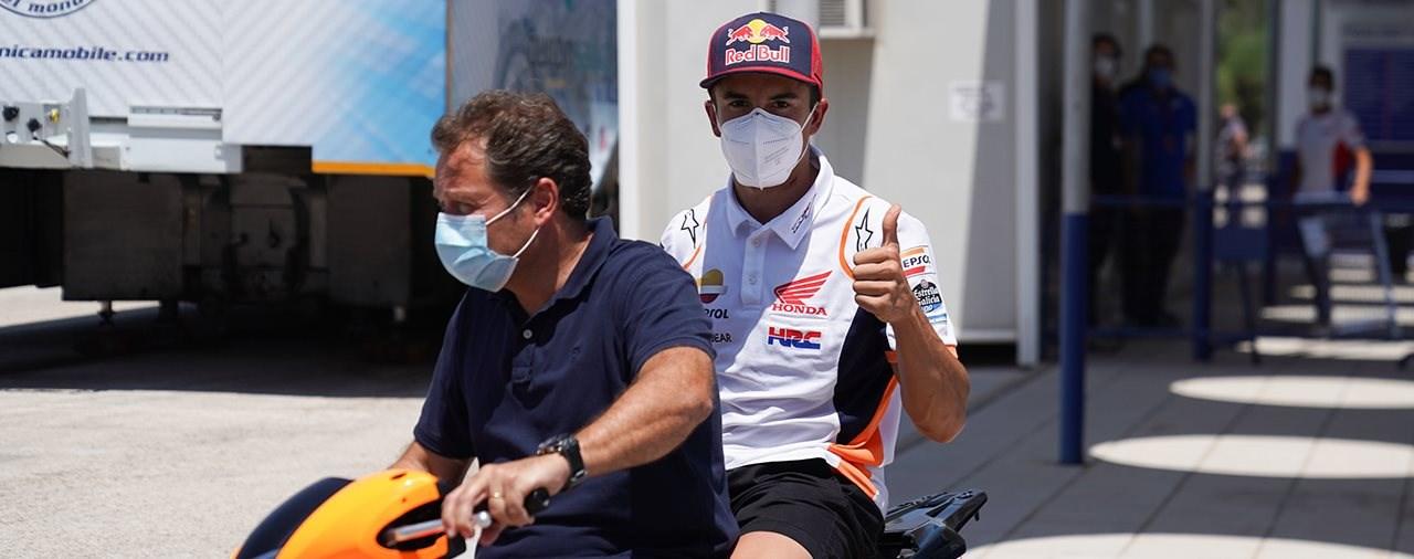 Marc Marquez nimmt am nächsten MotoGP Rennen wieder teil!