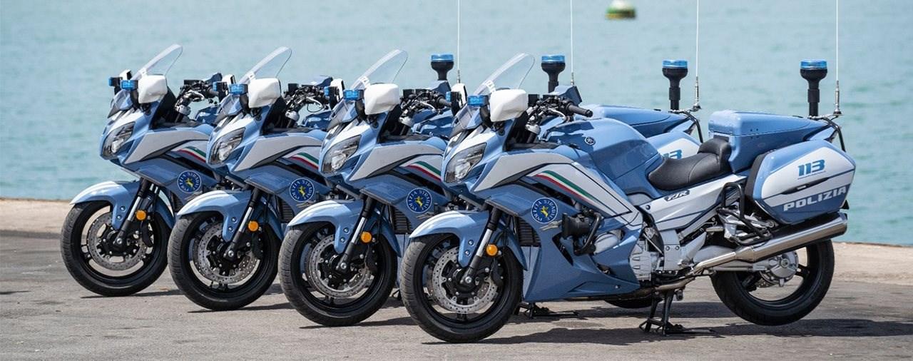 Die Yamaha FJR1300AE wird Italiens neues Polizeimotorrad