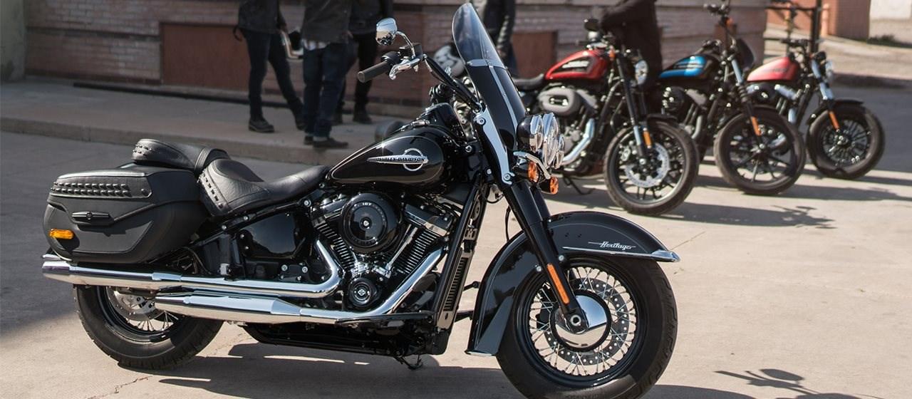 Einen Tag mit fünf Harleys gewinnen