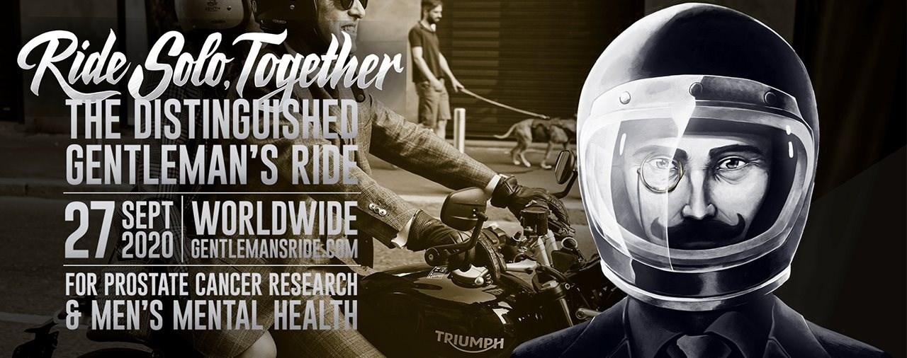 Distinguished Gentleman's Ride 2020 - Triumph als Hauptsponsor