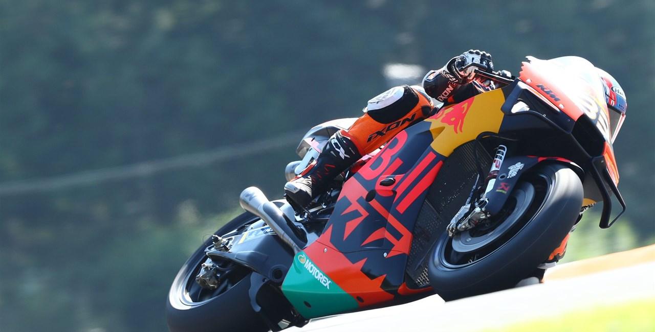 Brad Binder siegt auf KTM in MotoGP