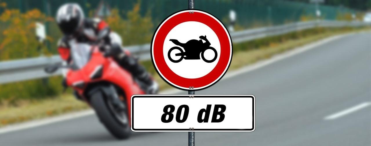 Motorrad Lärm: Grüne fordern generelle Beschränkung auf 80 dB
