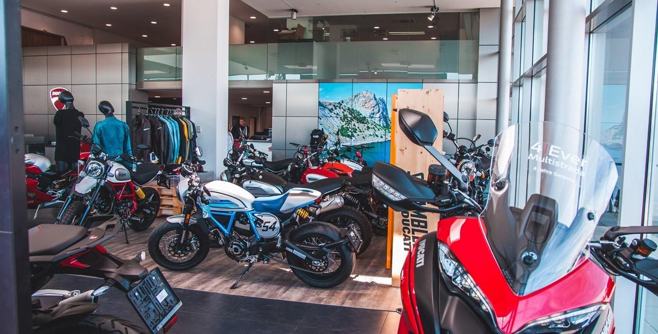 Ducati und Honda Händler in Wien