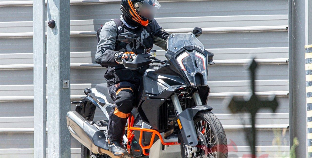 KTM 1290 Super Adventure Erlkönige