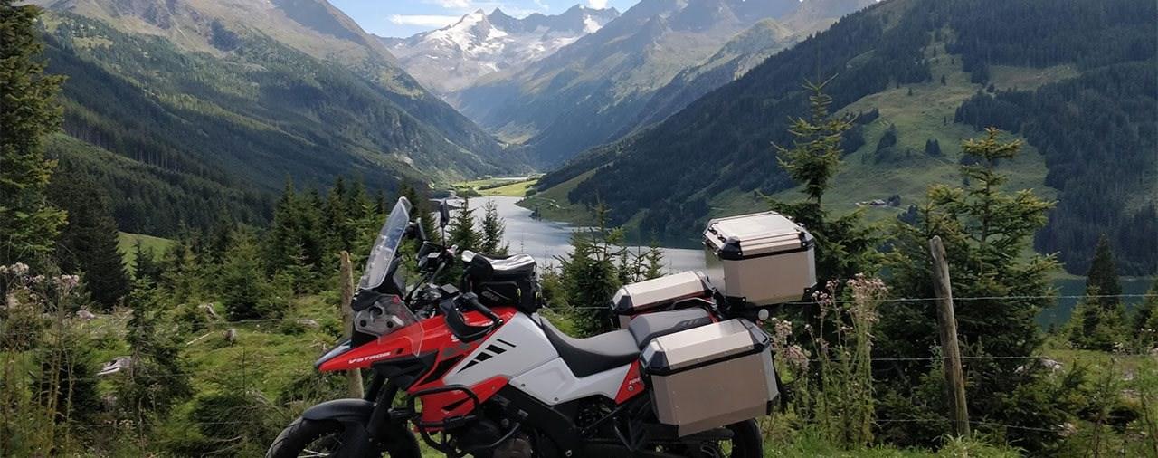 Alukoffer-System im Belastungstest - Givi Trekker Alaska Test
