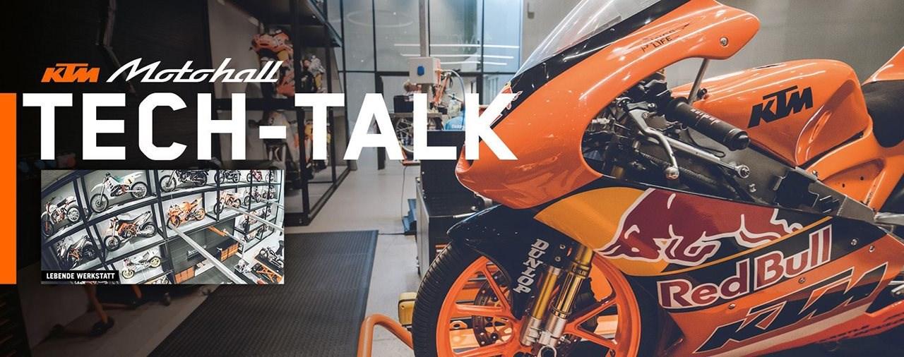 Tech-Talks in der KTM Motohall
