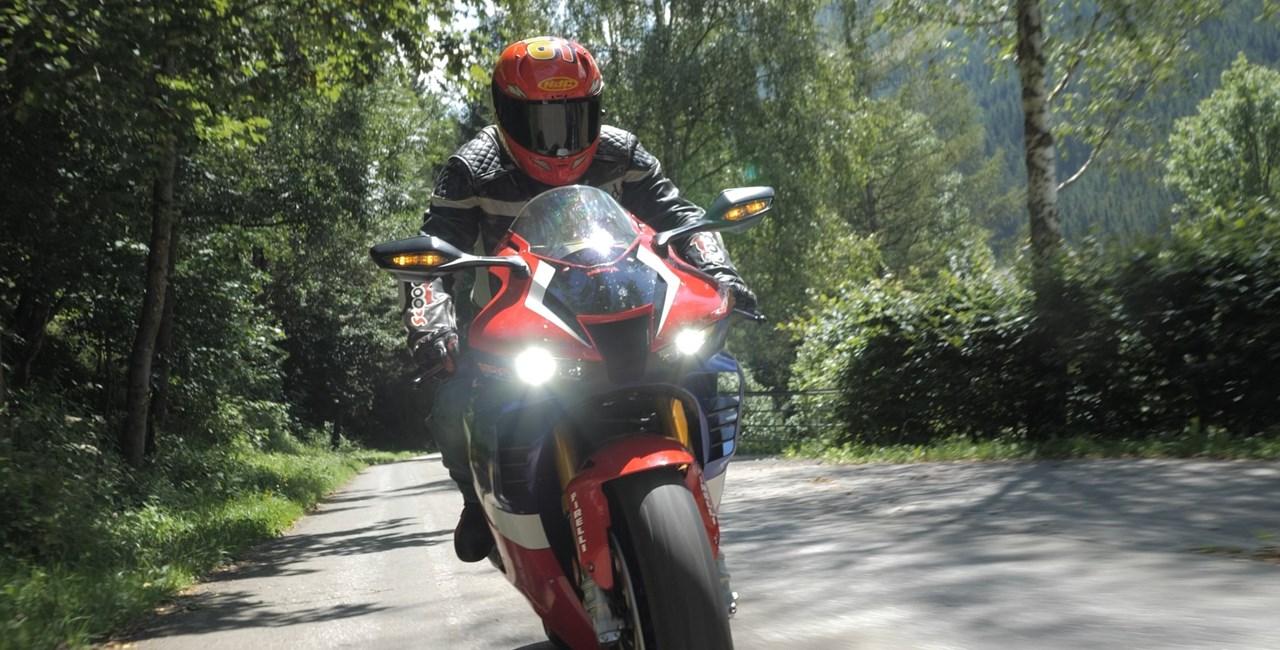 Das schnelle Quartett - Honda CBR1000RR-R Fireblade SP 2020