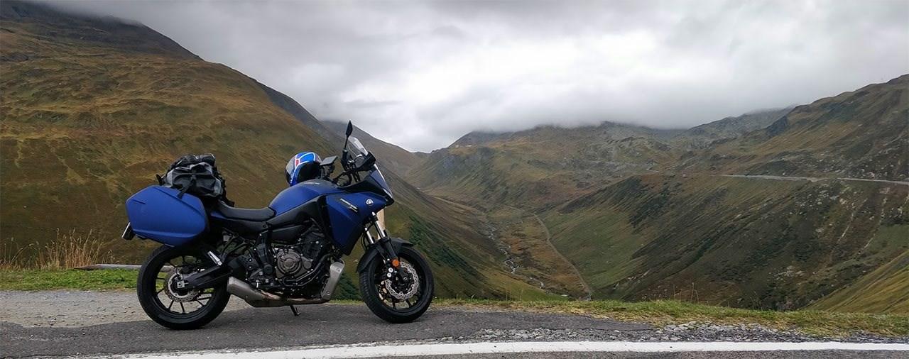 Yamaha Tracer 700 in der Süd-Schweiz - Schweiz Motorrad-Tour Pt.1