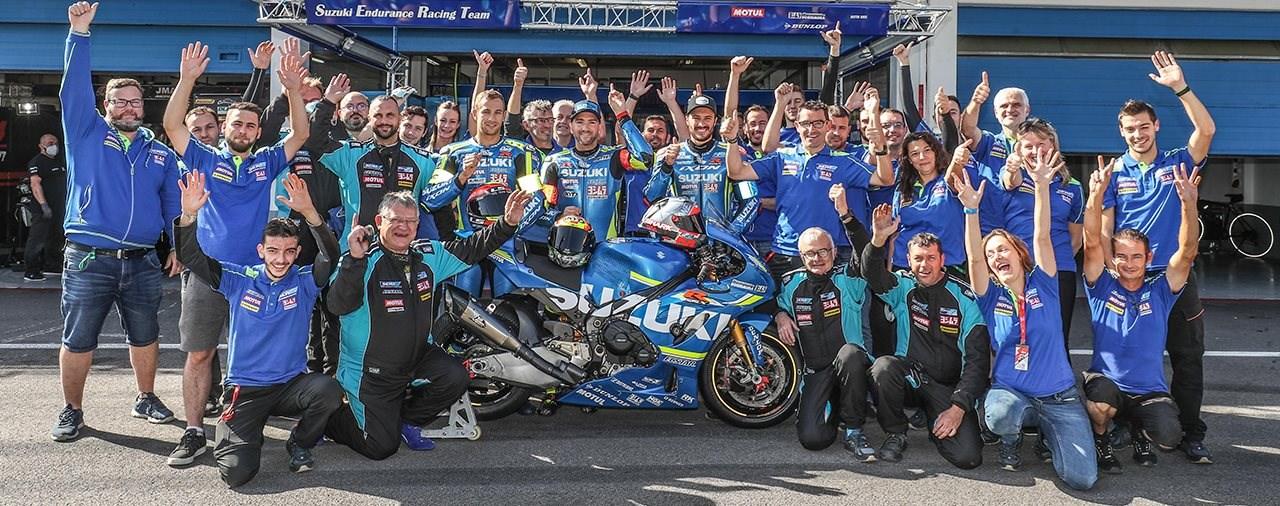 Suzuki gewinnt zum 16. Mal die Endurance Weltmeisterschaft