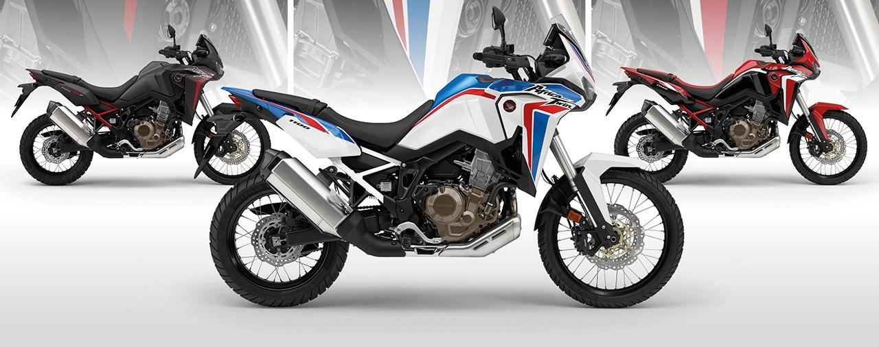 Tricolour auch für die Honda CRF1100L Africa Twin 2021