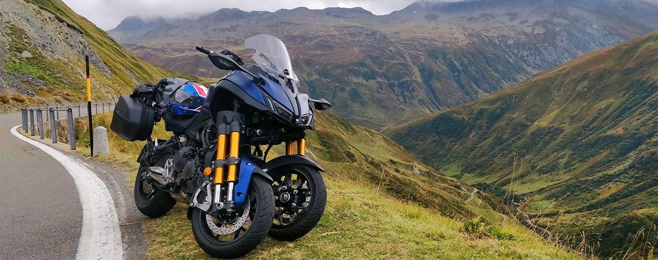 Yamaha Niken GT Test in den Schweizer Alpen - 3 Räder > 2 Räder?!