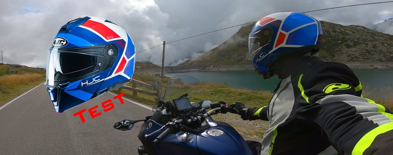 HJC i90 Hollen Klapp-Helm im Test