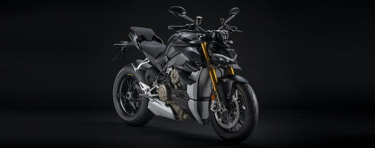 Ducati Streetfighter V4 S 2021 in Dark Stealth und mit Euro5