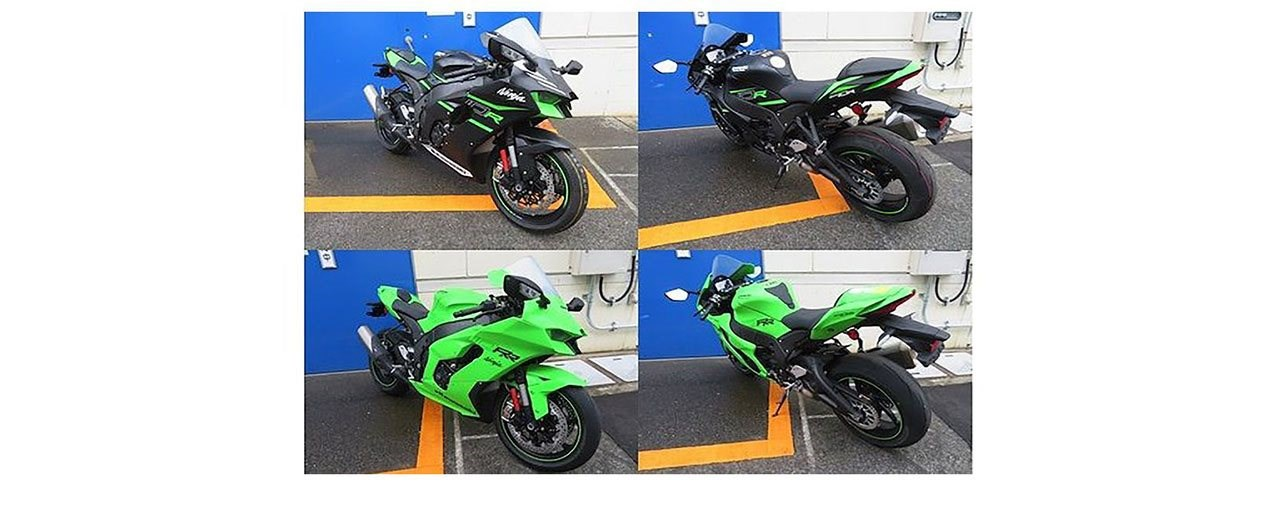 Kawasaki ZX-10 R und ZX-10 RR 2021 gesichtet