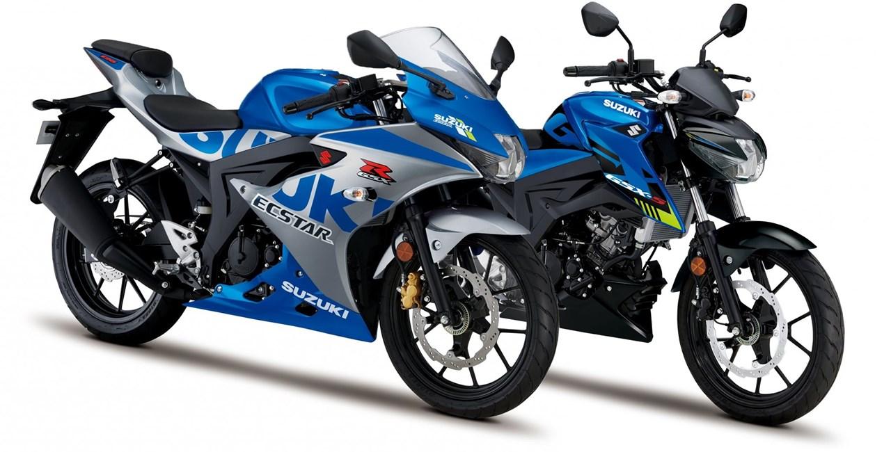 Suzuki GSX-S 125 und GSX-R 125 2021 präsentiert