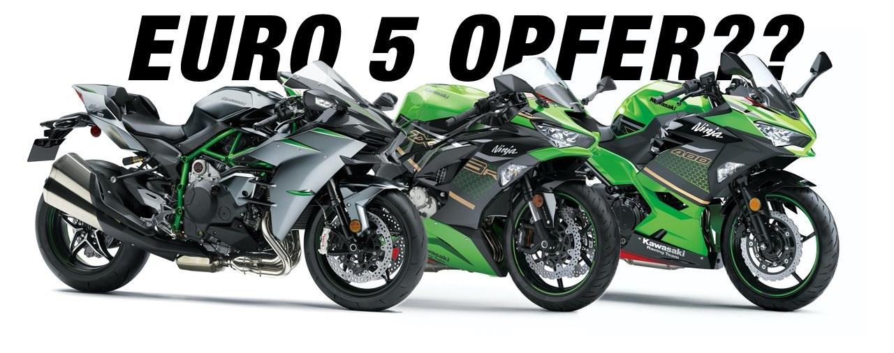 Diese Kawasaki Modelle werden 2021 nicht erhältlich sein