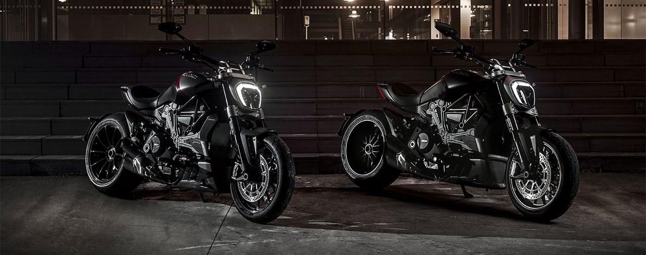 Ducati XDiavel Dark & XDiavel Black Star für 2021 vorgestellt