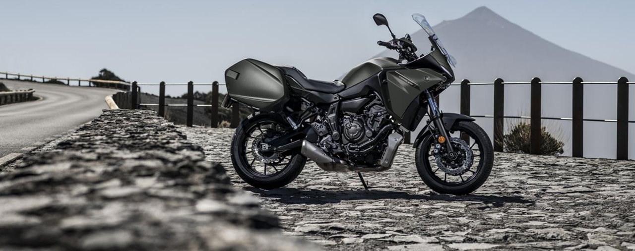 Neue Yamaha Tracer 7 GT 2021