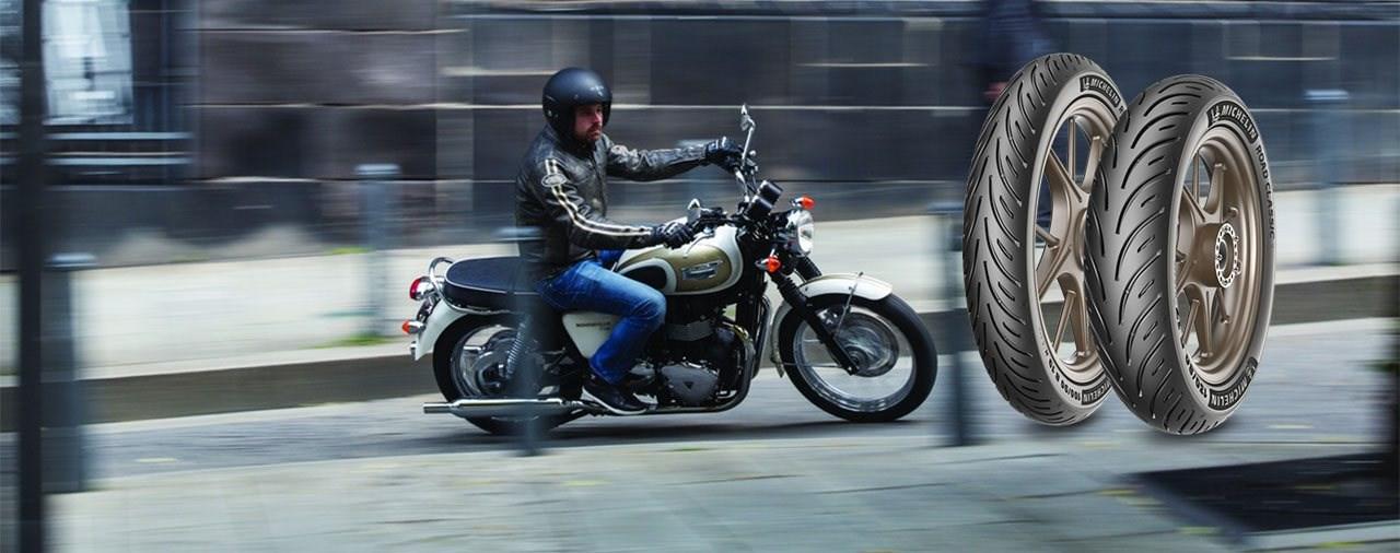 Michelin Road Classic - Moderner Reifen für klassische Motorräder