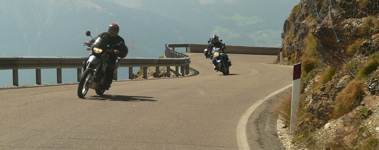 Weniger Motorrad Verkehrstote in Österreich 2020