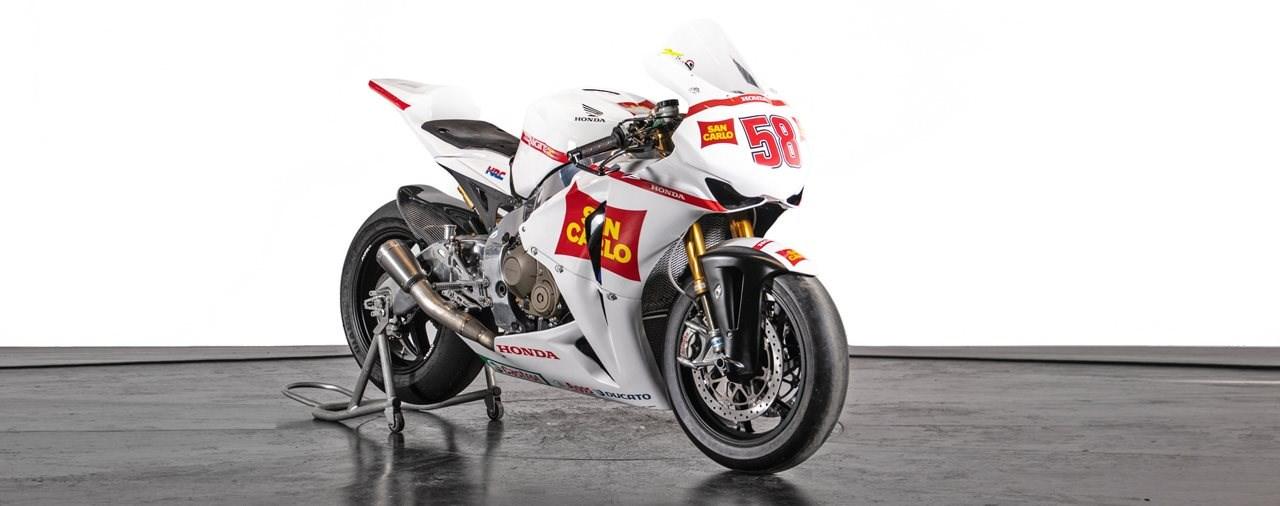 Simoncellis Honda CBR1000RR Testmotorrad wird verkauft