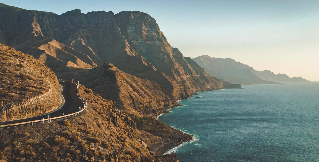 Motorradfahren in Gran Canaria