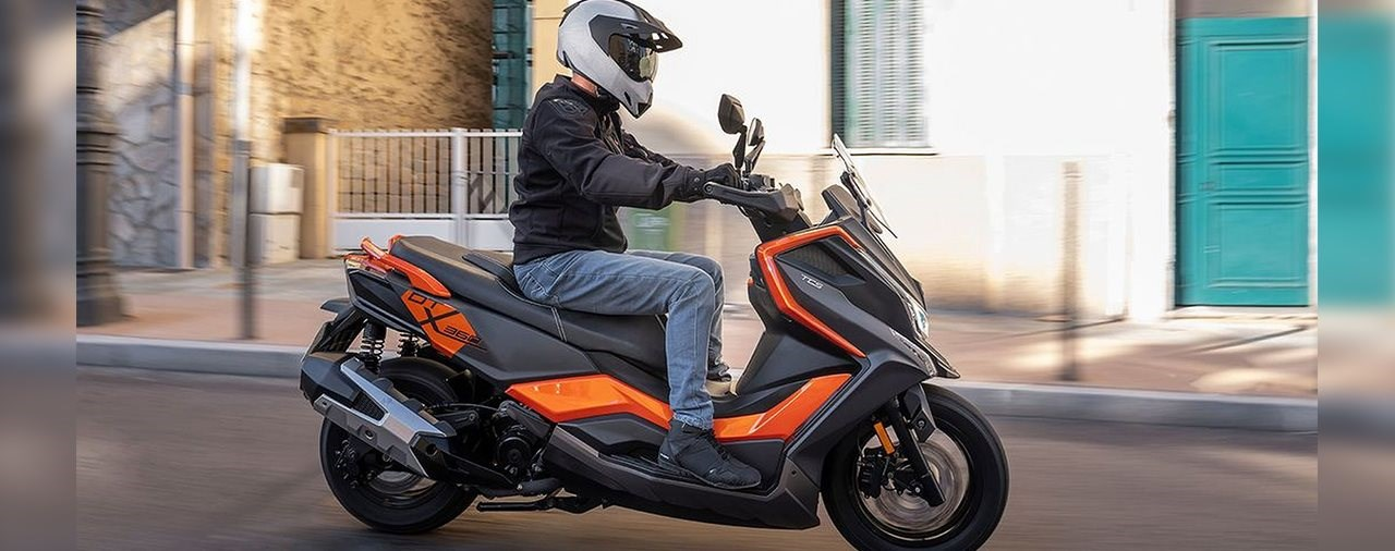 Kymco DownTown X360 Offroad-Roller?