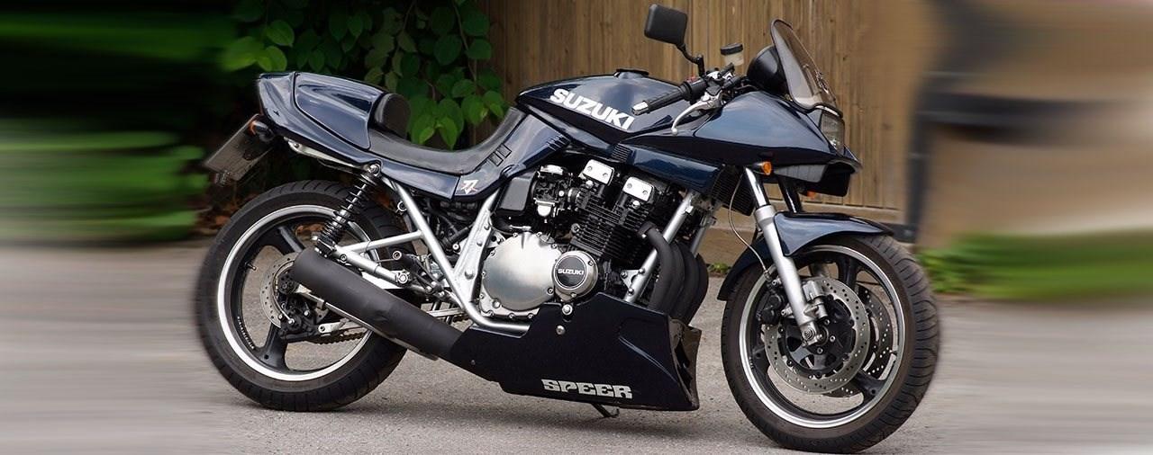 Die Ursprungsgeschichte der Suzuki GSX 750 S Katana