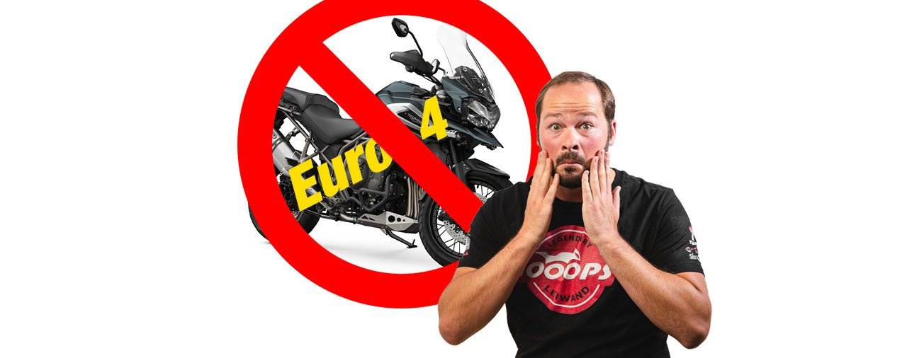 Musst du dein Euro4-Motorrad 2020 noch zulassen?