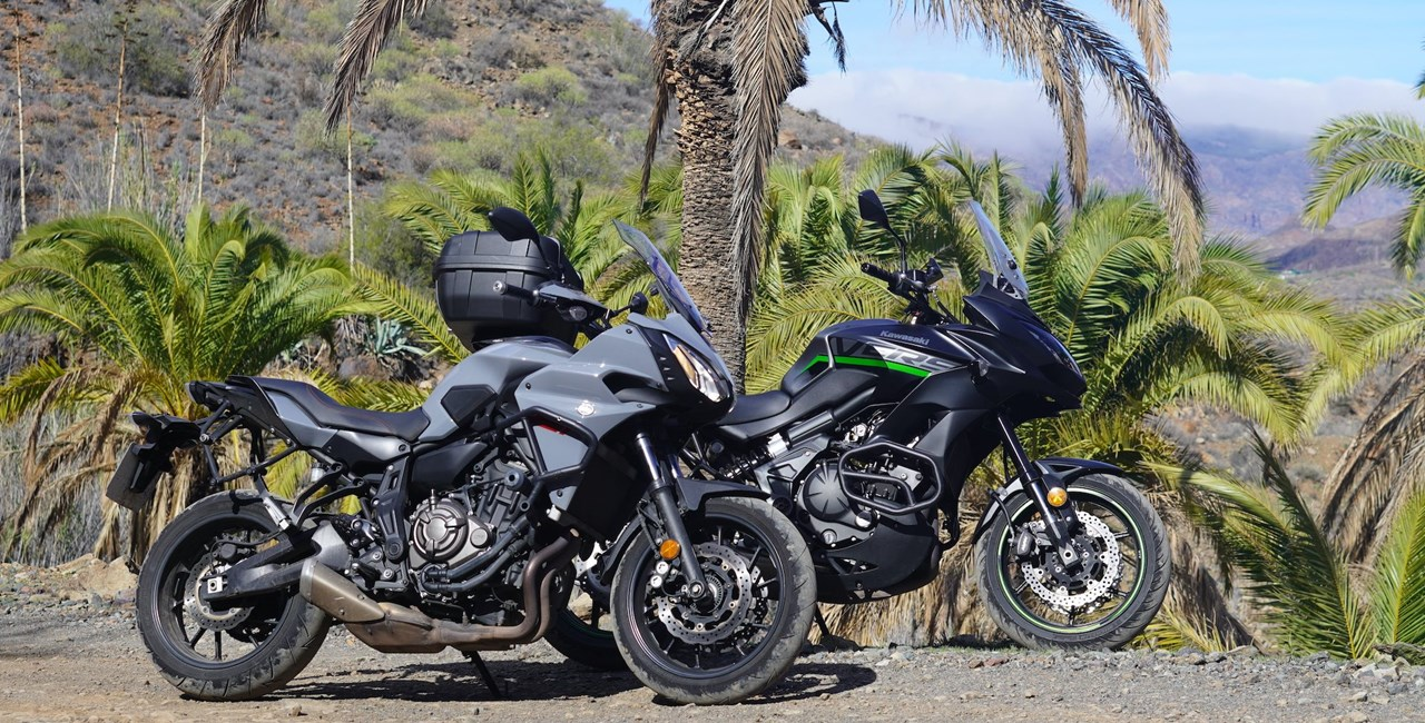 Kawasaki Versys vs Yamaha Tracer