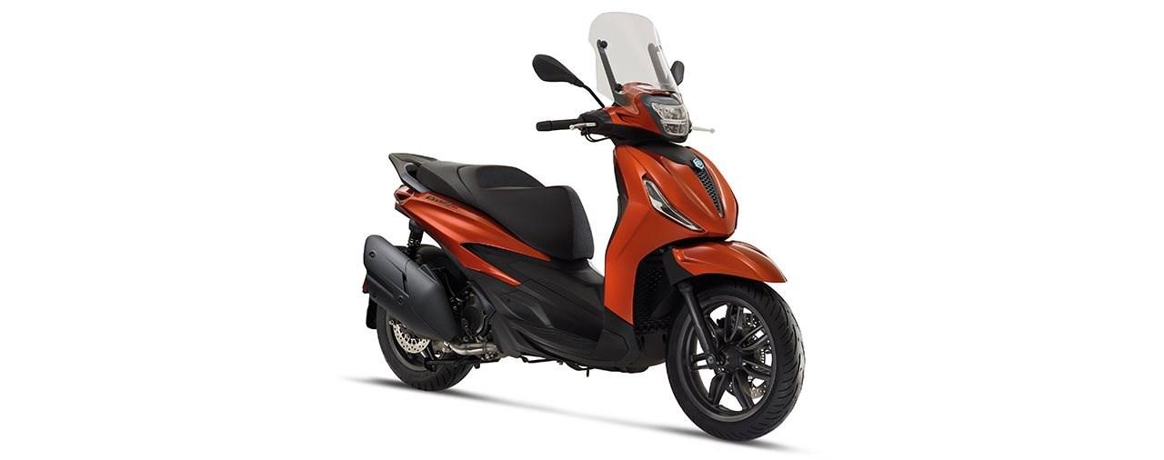 Piaggio Beverly 300 und Beverly 400 Modelljahr 2021