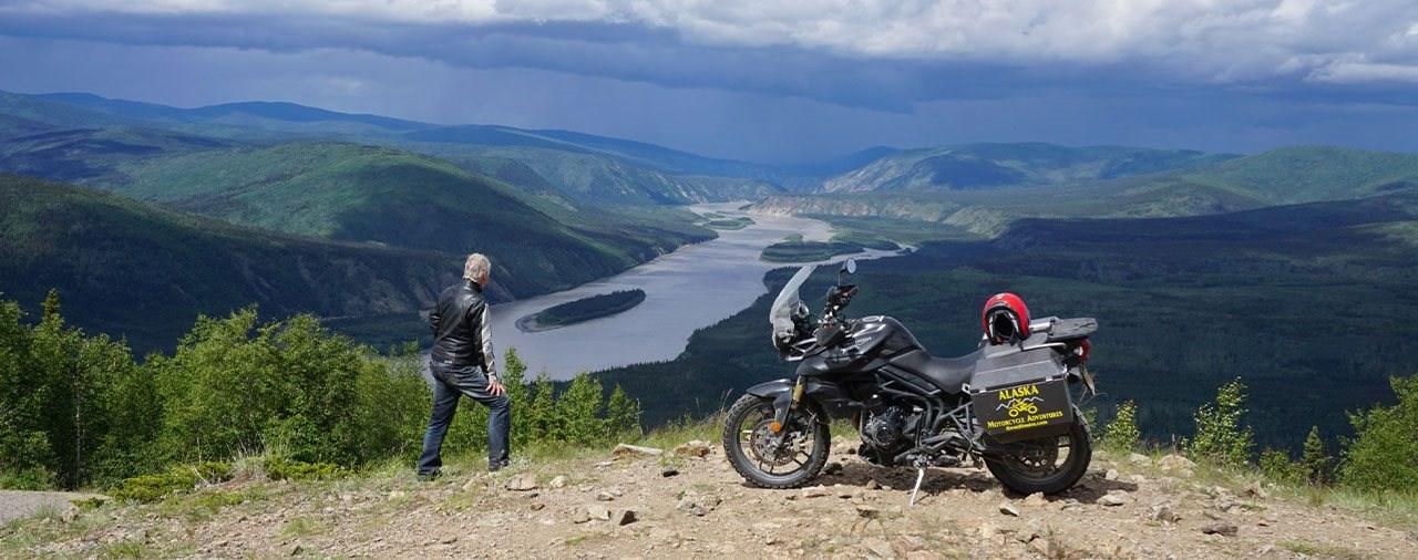 Mit dem Motorrad nach Alaska und in die Yukon Territories