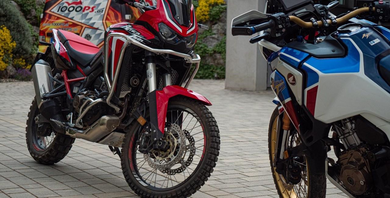 Rückruf Honda Africa Twin - Produktionsrückstände im Tank