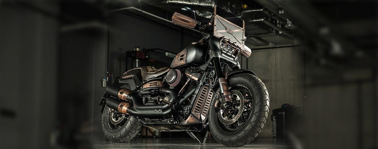 Diese Harley Fat Bob ist bereit für die Apokalypse