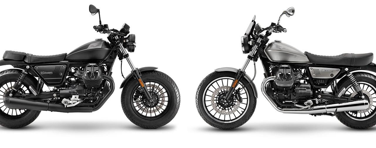 Neue Moto Guzzi V9 2021