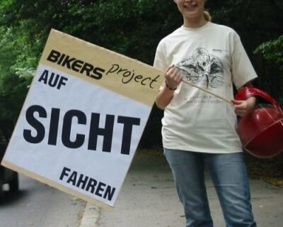 Bikers Project Aktion