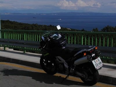 V-Strom Test in Kroatien