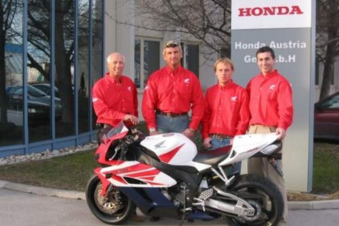 WRT Honda Austria in der Endurance WM