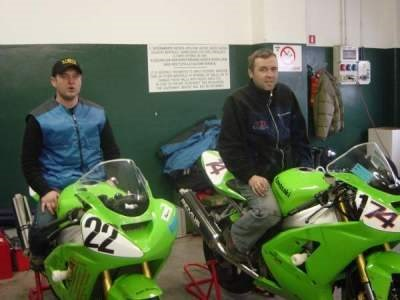 Erstes Training in Misano