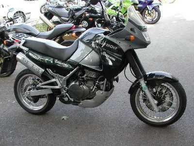 Kawasaki KLE 500 Funbike Umbau