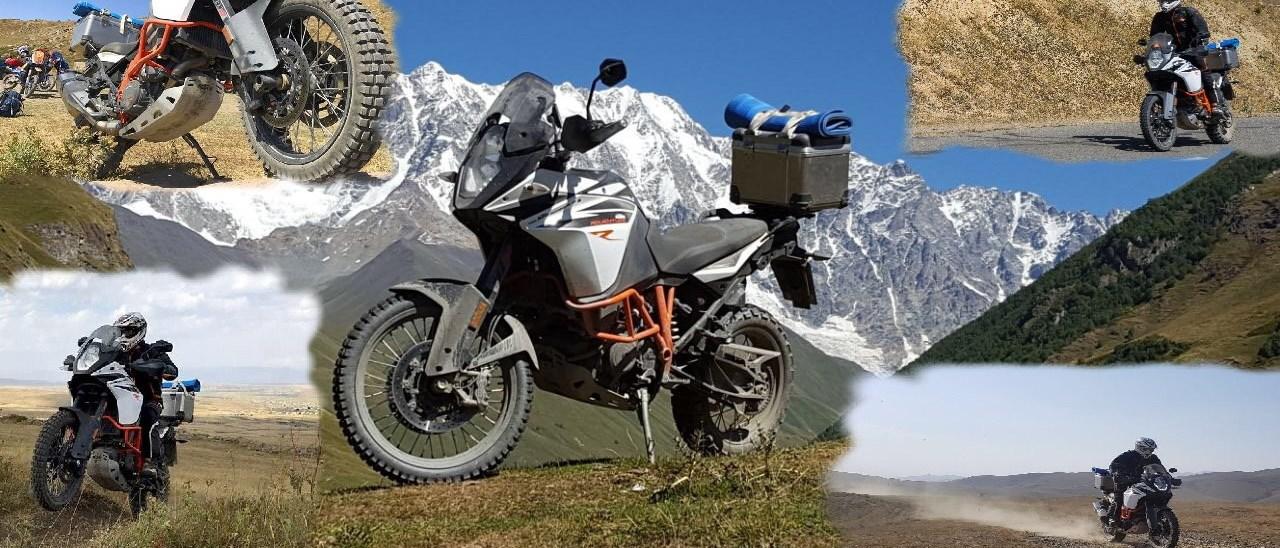 KTM Bernhardt 1090 Adventure R Test im Kaukasus