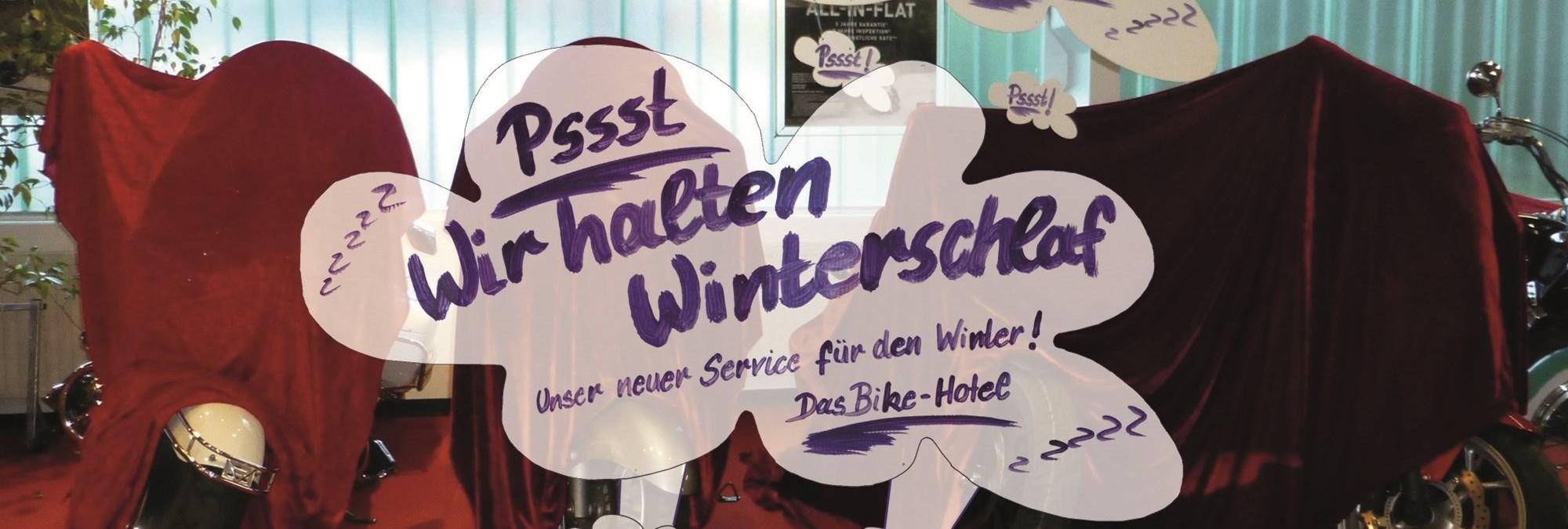 Bike-Hotel - begrenzte Stückzahl