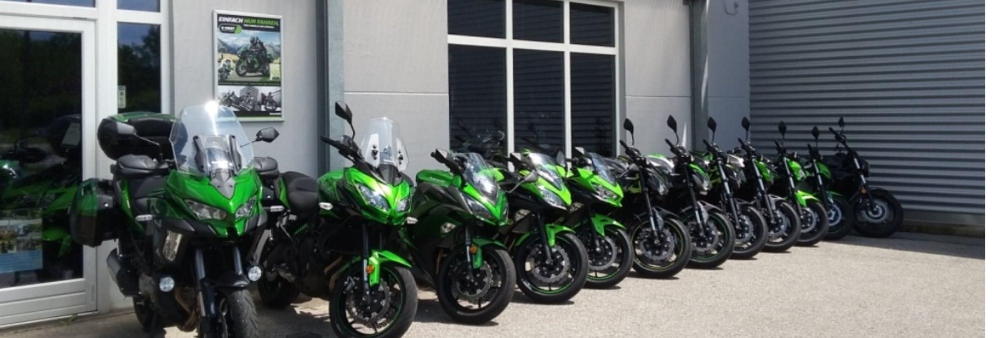 Kawasaki Rent   -   Mietmotorräder  -  Kawasaki Rent
