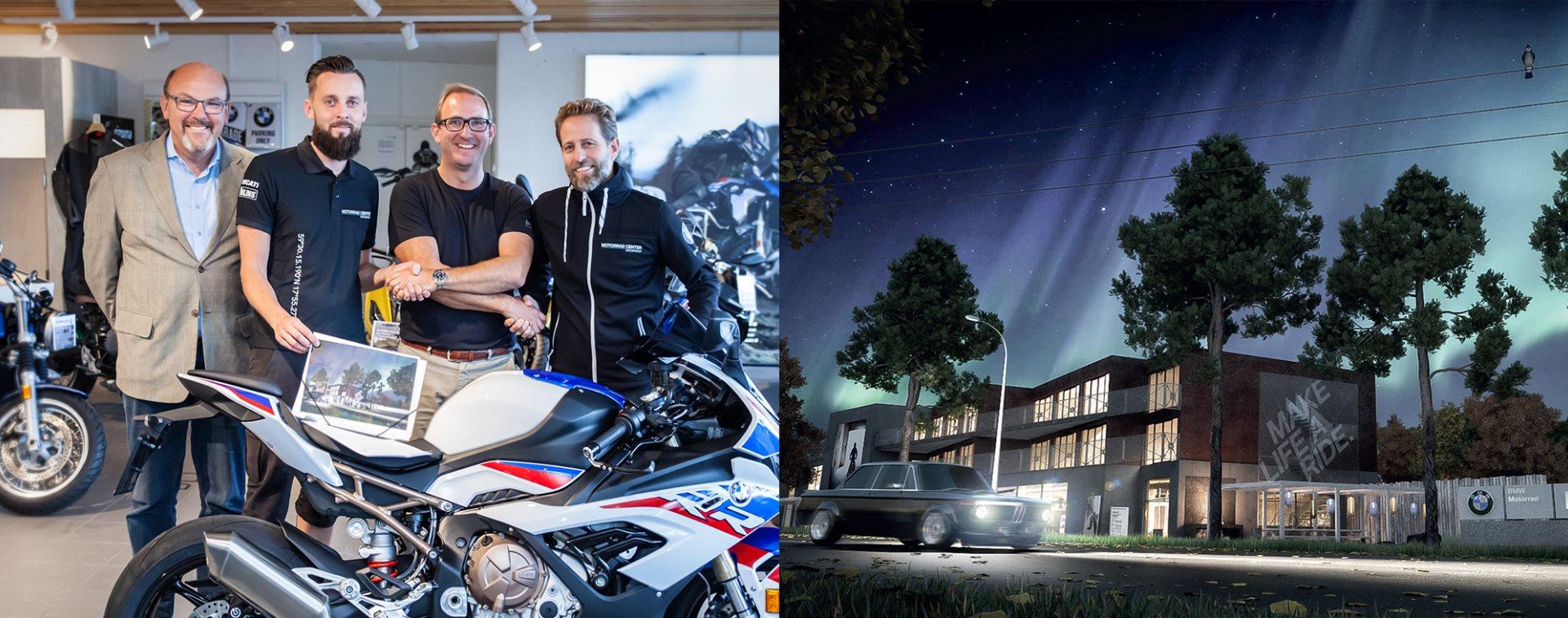 Motorrad Center Stockholm öppnar Flag Ship Store!