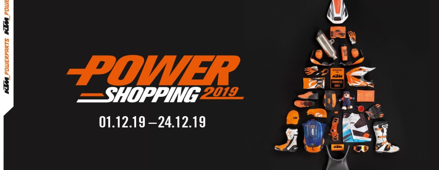 KTM PowerShoppingDays vom 01.12 - 24.12.2019