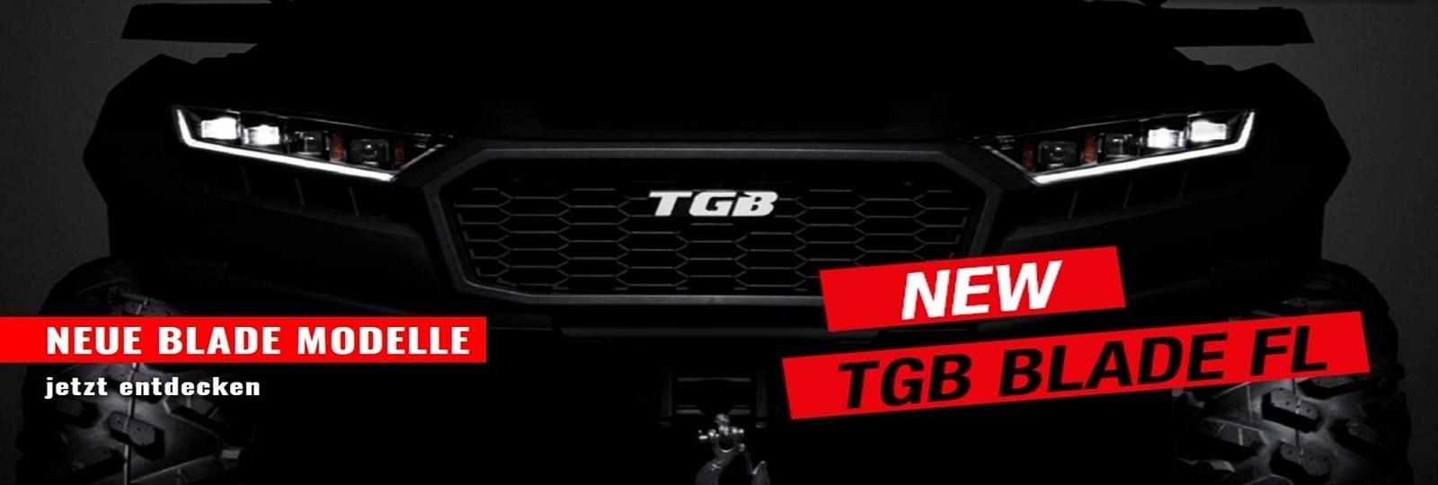 Neue TGB Blade Modelle