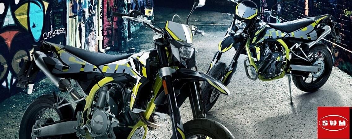 Ab jetzt erhältlich SWM Motorräder