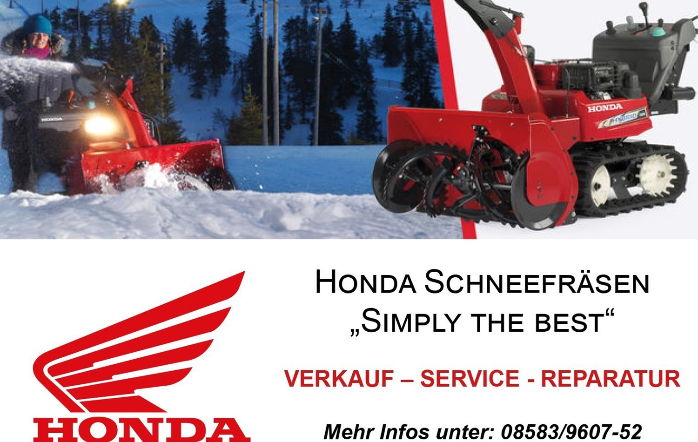 HONDA Schneefräsen Mobile Version