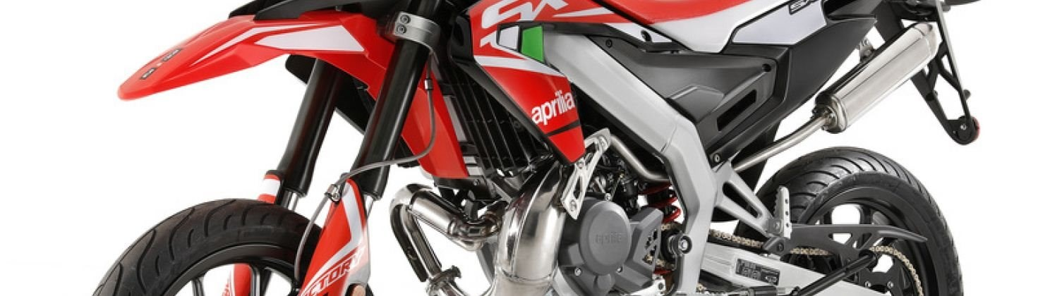 aprilia SX 50 Factory- <br> welcome to the world of Motard<br>