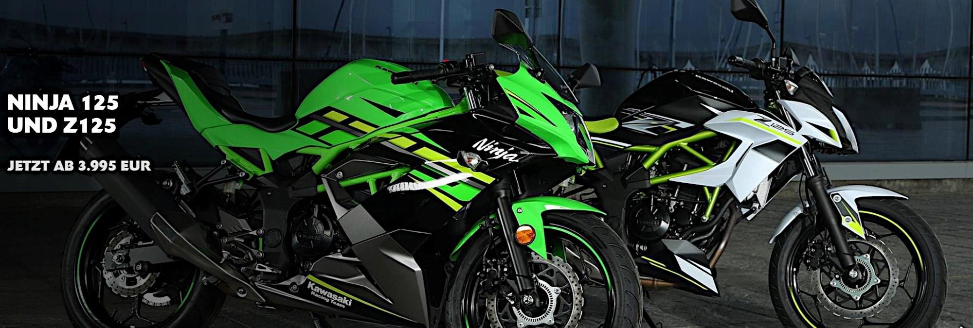 Ninja 125 und Z125